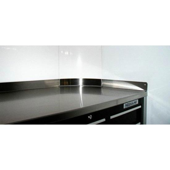 Moduline Aluminum Countertops For Cabinets With Radius Corners