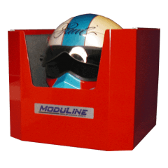 Aluminum Helmet Holder Enclosed Trailer Accessories