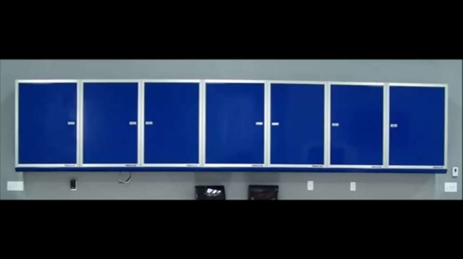 Aluminum Shelves Video