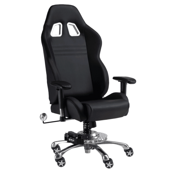 Black On Black Grand Prix Chair