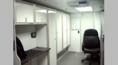 Office Trailer Lightweight Cabinets