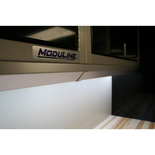 LED Lighting For Moduline Aluminum Garage Cabinets