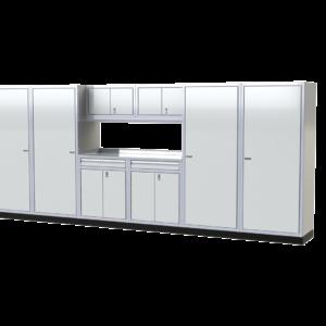ProII™ Garage Cabinet Combination 16 Foot Wide #PGC016-05X
