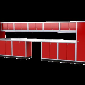 ProII™ Garage Cabinet Combination 25 Foot Wide #PGC025-01X