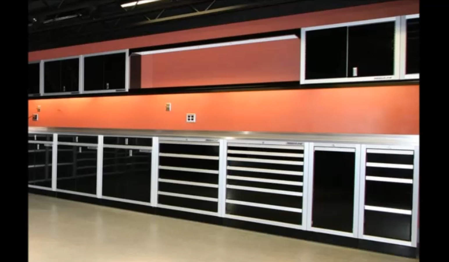 ProII™ SERIES Garage Cabinet Valance And Trophy Shelf Video