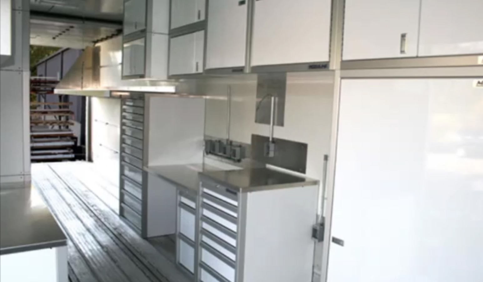 ProII™ SERIES Trailer Aluminum Large Drawer And File Cabinets Featuring QuikDraw® Single Action Latch System Video
