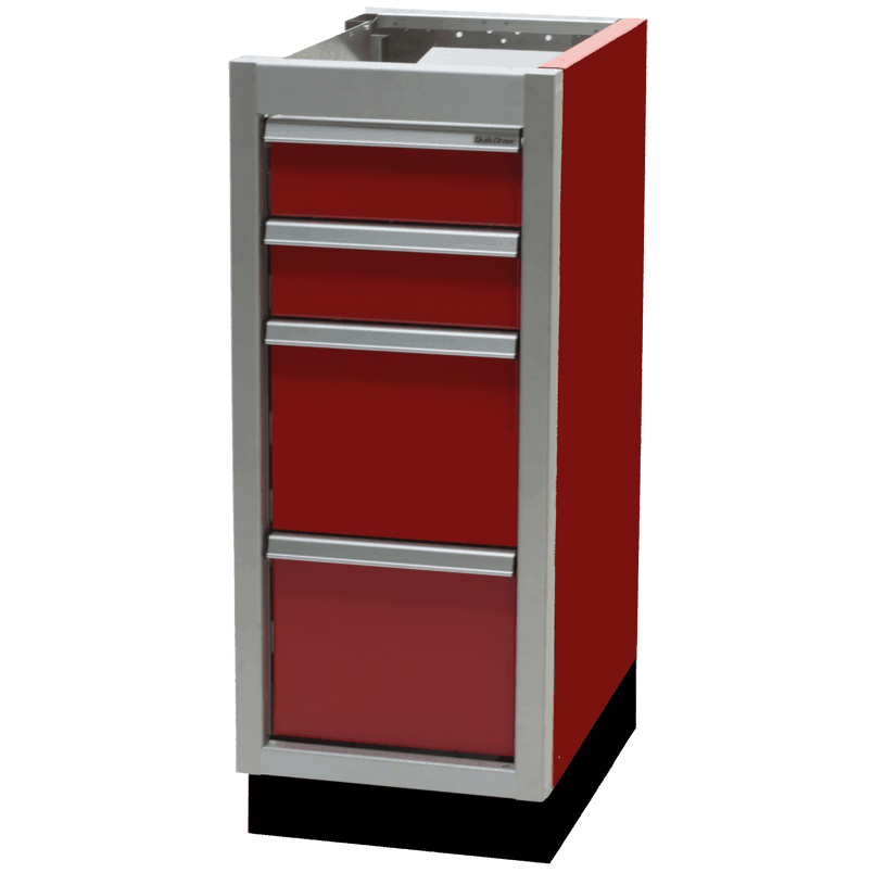 ProII™ SERIES Trailer Aluminum Large Drawer And File Cabinets Featuring QuikDraw® Single Action Latch System