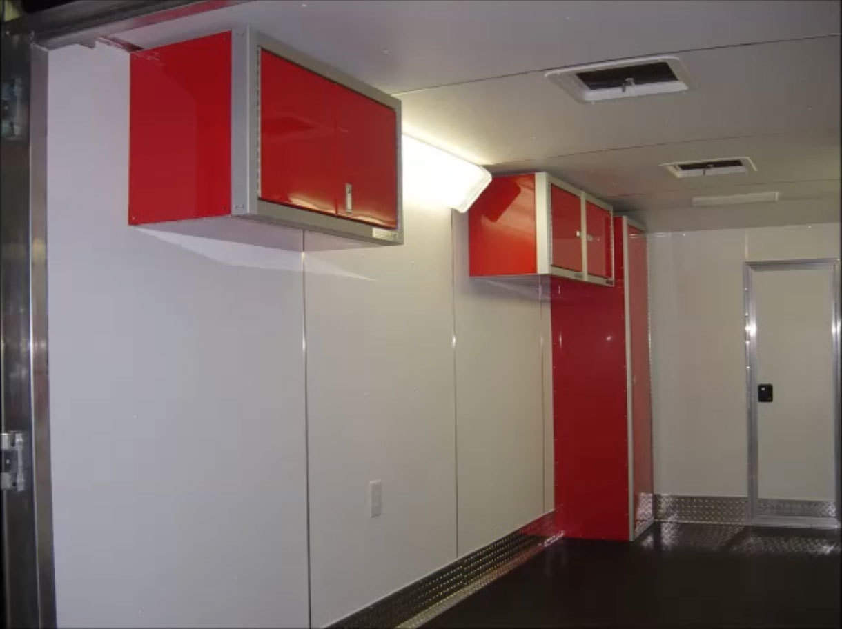 Proii Series Trailer Aluminum Wall Cabinets Video