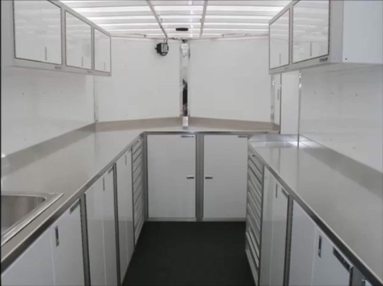 Aluminium And Stainless Steel Countertops & Braces For Trailers