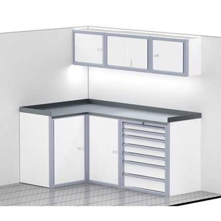 ProII™ SERIES Trailer Cabinet Combination for 80'' Wide #C3203