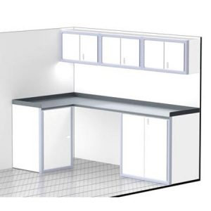 """ProII™ SERIES Trailer Cabinet Combination For 96"""" Wide #C4202"""