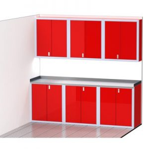 """ProII™ SERIES Trailer Cabinet Combination For 96"""" Wide #C4212"""