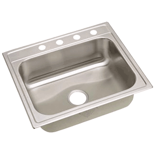Moduline Stainless Steel Countertop With Sink Elkay Signature 25