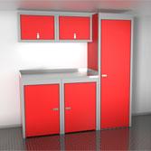 Enclosed Cargo Trailer Cabinets