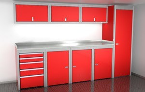 Enclosed Car Trailer Cabinets