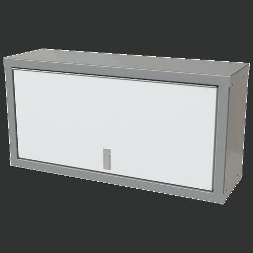 "White Sportsman II™ 18""H X 11""D X 36""W Overhead Aluminum Cabinet"