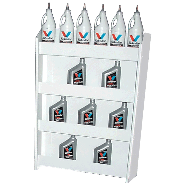 Aluminum Wall Storage Accessories Oil Can Rack
