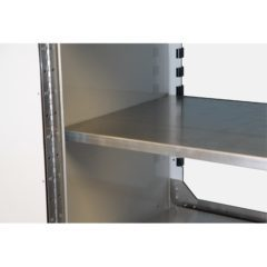 Pro II Aluminum Adjustable Shelves for Storage Cabinets