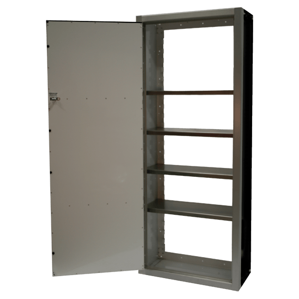 Aluminum Extra Tall Cabinet With Adjustable Shelves