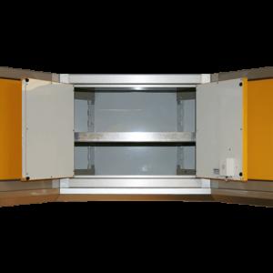 ProII™ Aluminum Adjustable Corner Shelf 15″D X 32″W