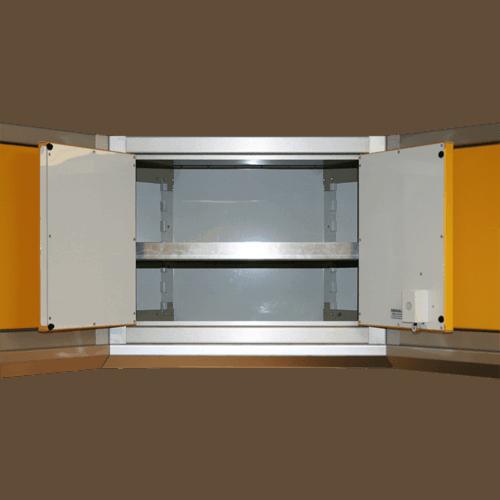 Corner Cabinet Adjustable Shelving For Wall Storage