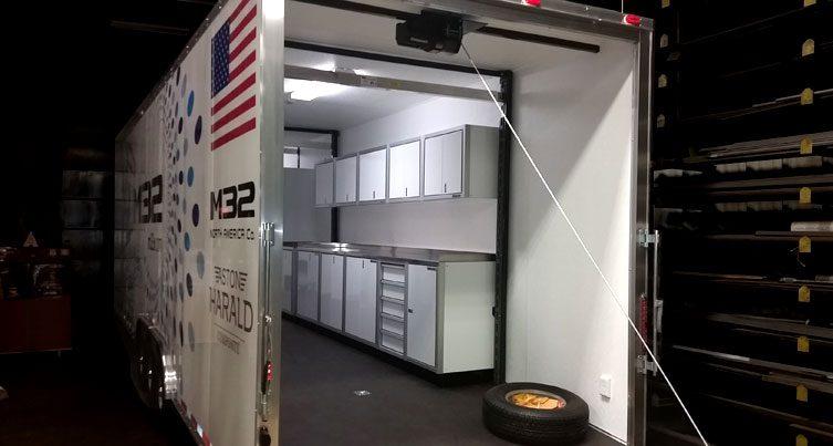 Enclosed Trailer Custom Aluminum Cabines