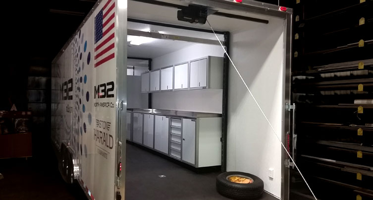 Enclosed Trailer Custom Aluminum Cabines