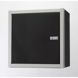 ProIITM Aluminum Wall Cabinet With Shelf 24″H X 11″D X 24″W