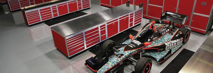 Modular Aluminum Garage Cabinets