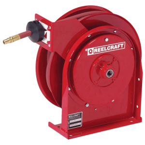 Reelcraft 4435OLP, Premium Duty, 1/4 X 35 Ft., 300 Psi, Air/Water Hose Reel With Hose