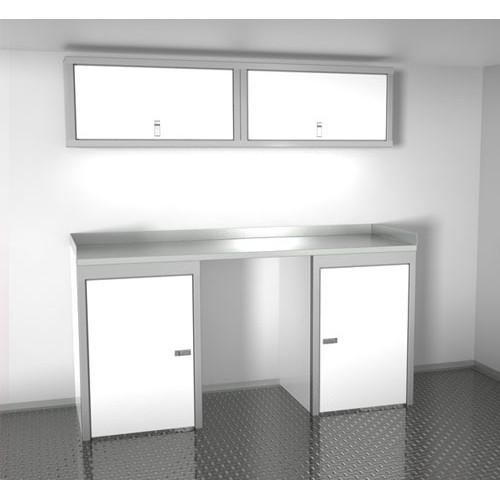 Sportsman II™ Aluminum Trailer And Vehicle Cabinet Combination #SPTC006-010