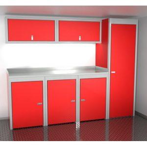 SportsmanII Aluminum Trailer And Vehicle Cabinet Combination 96″ Wide #SPTC008-030