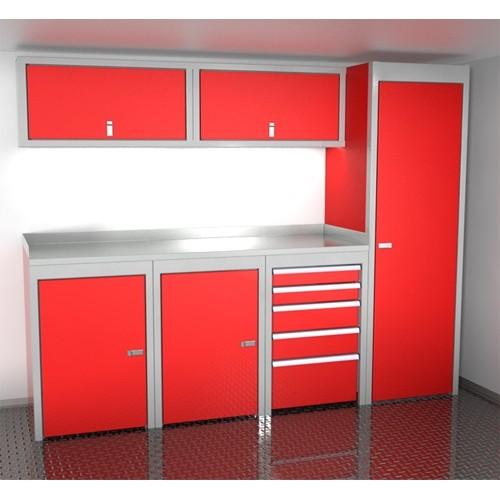 Sportsman II™ Aluminum Trailer And Vehicle Cabinet Combination #SPTC008-040