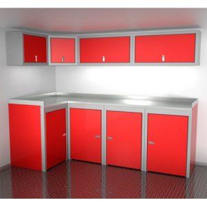 SportsmanII Aluminum Trailer And Vehicle Cabinet Combination 96″ Wide #SPTC008-050