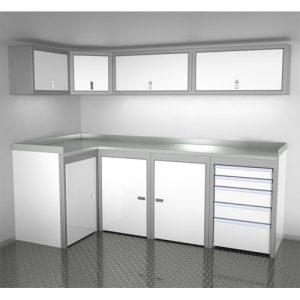 SportsmanII Aluminum Trailer And Vehicle Cabinet Combination 96″ Wide #SPTC008-060