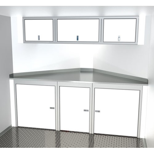 Sportsman II™ Aluminum V-Nose Trailer Cabinet Combination SPTC008-110
