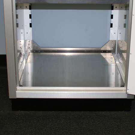 Cabinet Bottom for Garage Storage Systems
