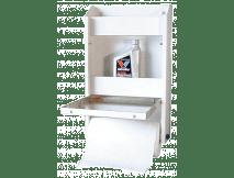Aluminum Small Shelf Cabinet For Storage