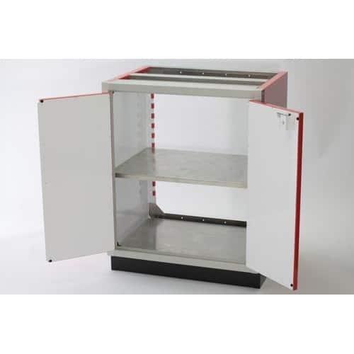Adjustable 30x30 Aluminum PROII™ Storage Shelf In Cabinet