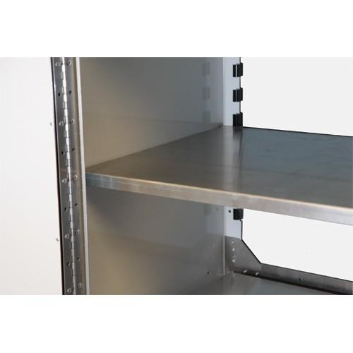 "PROIITM Aluminum Adjustable Shelf 18""D X 30""W"