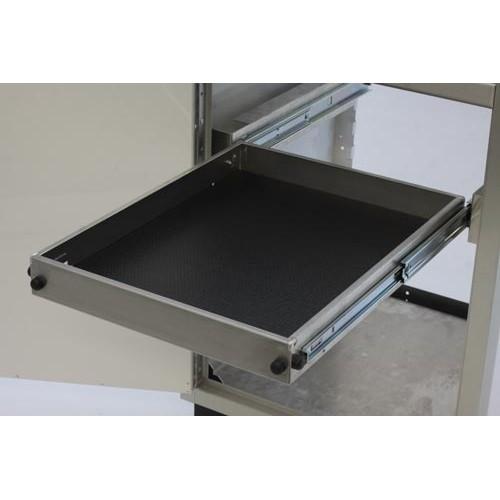 "PROIITM Aluminum Adjustable Pull-Out-Shelf 24""D X 24""W"