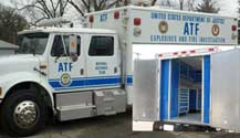 Emergency Vehicle GSA Approved Aluminum Cabinets