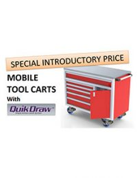 Mobile Tool Carts With QuikDraw™ Brochure