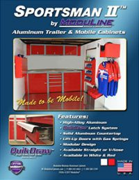 Sportsman II™ Trailer & Mobile Cabinets