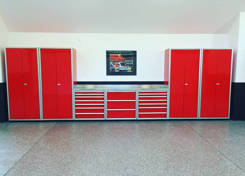 Gallery Of Garage Shop Aluminum Cabinets Moduline Part 2