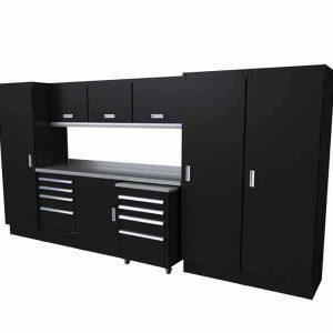 Select™ SERIES Garage Cabinet Combination 12′-4″ Wide #SEGC012-030