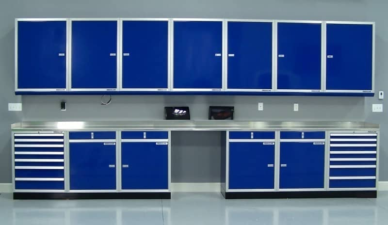 Custom Cabinet System for Home Office