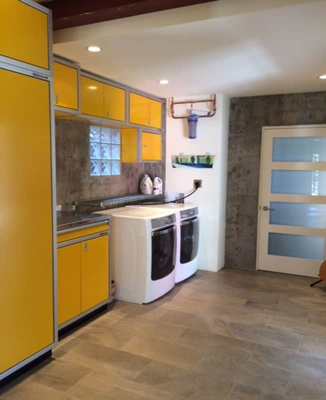 = Custom Cabinet Organization System for Laundry Room