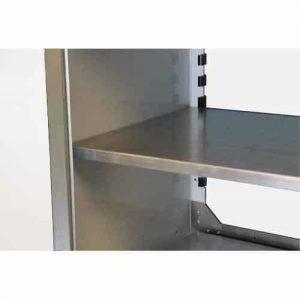 ProII™ Aluminum Adjustable Shelf 15″D X 48″W