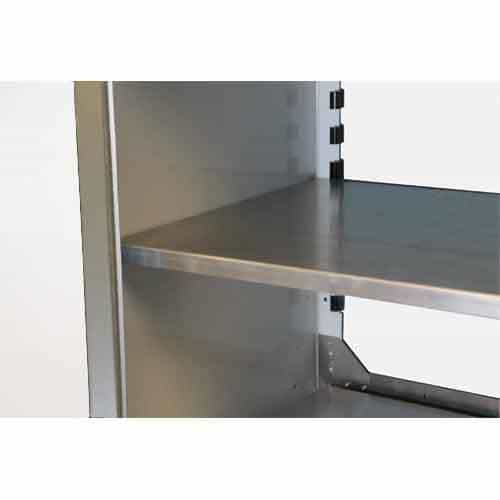 "PROIITM Aluminum Adjustable Shelf 15""D X 48""W"